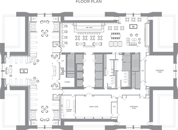 The Library Floor Plan
